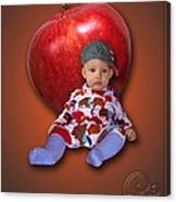 An Image Of A Photograph Of Your Child. - 04 Canvas Print