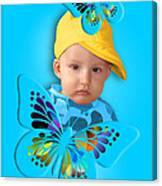 An Image Of A Photograph Of Your Child. - 06 Canvas Print