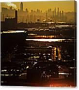An Imposing Skyline Canvas Print