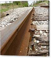 An Inspection Failure Of Train Tracks 6 Canvas Print
