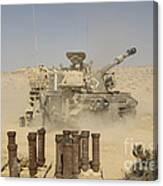 An Israel Defense Force Artillery Corps Canvas Print