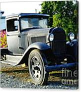 An Old Farm Truck  Canvas Print