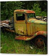 An Old Flatbed Canvas Print
