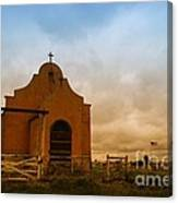 An Old Mission In Northeastern Montana Canvas Print