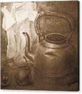 An Old Postcard Canvas Print