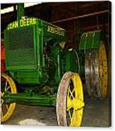 An Old Restored John Deere Canvas Print