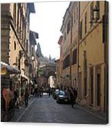 An Old Street In Assisi Italy  Canvas Print
