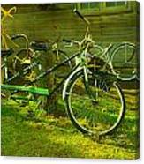 An Old Two Seater Canvas Print