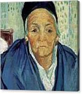An Old Woman Of Arles Canvas Print