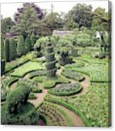 An Ornamental Garden Canvas Print