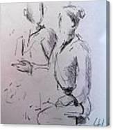 Ana And Patrick Ni Canvas Print