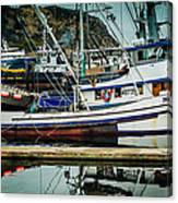 Anacortes Fishing Fleet Washington State Canvas Print
