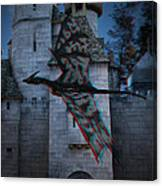 Anaglyph Dragon Canvas Print