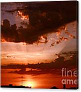 Anaheim Sunset Canvas Print