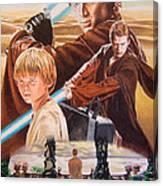 Anakin Skywaler Tatooine Canvas Print