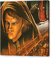 Anakin Turns To The Dark Side Canvas Print