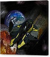 10115 Anakin's Starfighter Canvas Print