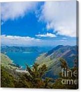 Anakoha Bay Of Marlborough Sounds In New Zealand Canvas Print