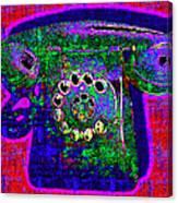 Analog A-phone - 2013-0121 - V4 Canvas Print
