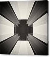 Analog Photography - Berlin Abstract Architecture Canvas Print