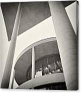 Analog Photography - Berlin Paul-loebe-haus Canvas Print
