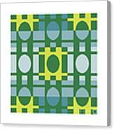 Analogous Color Harmony 1 Canvas Print