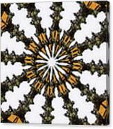 Ananasi Mandala Canvas Print