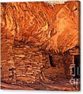 Anasazi  Cliff Dwelling Canvas Print