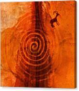 Anasazi Spirals  Canvas Print