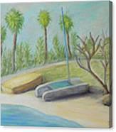 Anastasia Island Canvas Print