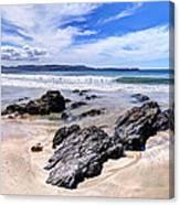 Anchor Bay New Zealand 2 Canvas Print