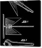 Anchor Patent Canvas Print