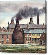 Anchor Road Pot Works Canvas Print