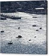 Anchorage Off Of Sausalito Canvas Print