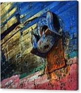Anchored In Change Canvas Print