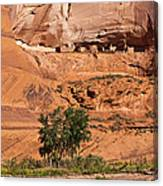 Ancient Anasazi Pueblo Canyon Dechelly Canvas Print