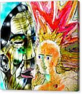 Ancient Aztec Dreamer Canvas Print