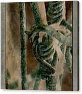 Ancient Barrier Canvas Print