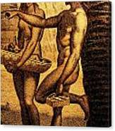 Ancient Chamorro Society 2 Canvas Print