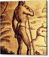Ancient Chamorro Society 3 Canvas Print