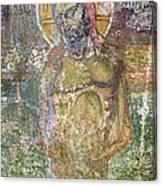 Ancient Christ Icon Canvas Print