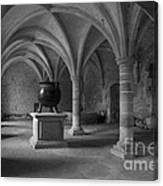 Ancient Cloisters. Canvas Print
