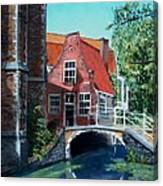Ancient Delft Canvas Print
