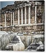 Ancient Fountain Canvas Print