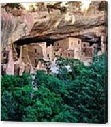 Ancient Houses Canvas Print
