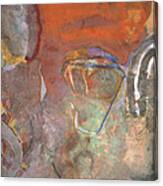 Ancient Orange Canvas Print