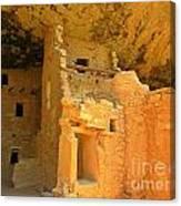 Ancient Pueblo Dwelling Ruins Two Canvas Print