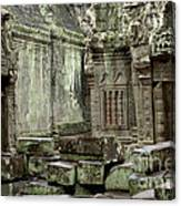 Ancient Ruins Cambodia Canvas Print