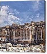 Ancient Ruins In Side Turkey Canvas Print