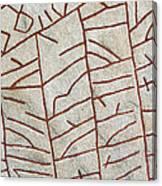 Ancient Runestone Canvas Print